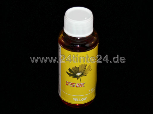 100 ml Yellow Tinte kompatibel zu HP