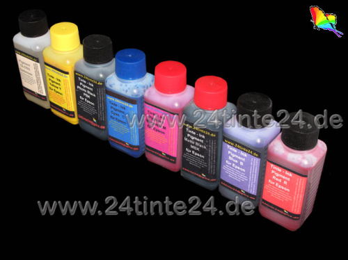 100 ml Tinte kompatibel zu Epson Stylus Photo R800, R1800 Pigment
