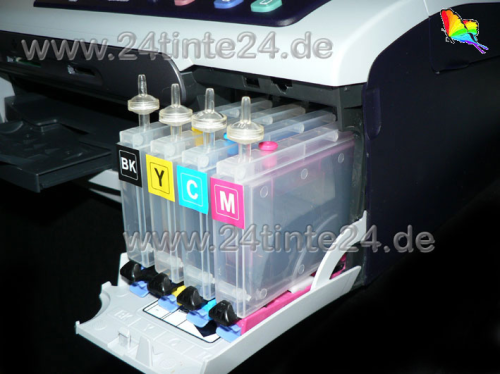 Ink-Patronen 80 ml (!) kompatibel  zu  Brother  MFC, DCP mit Patronen LC 970/960