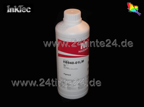 1 Liter InkTec DYE Tinte für Brother color magenta