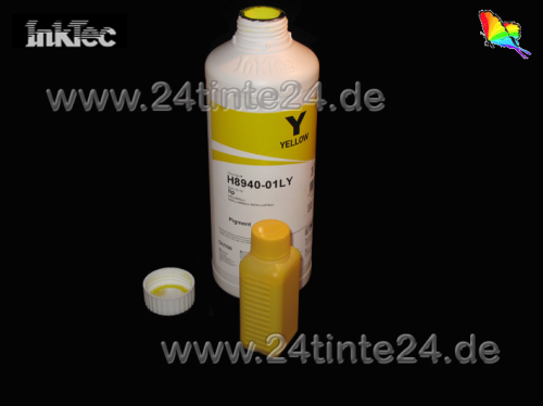 100 ml InkTec Pigment Tinte für Epson yellow 4-Color