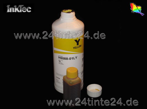 100 ml InkTec DYE Tinte für Canon color yellow