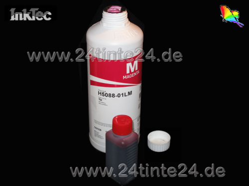 100 ml InkTec DYE Tinte für Brother color magenta