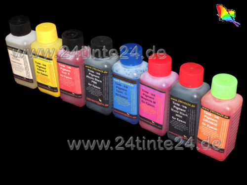 100 ml Tinte kompatibel zu Epson Stylus Photo R1900 R 1900 Pigment