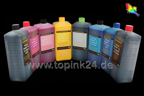 Refill kit ink pigmen for HP Designjet Z6100 HP91 HP 91