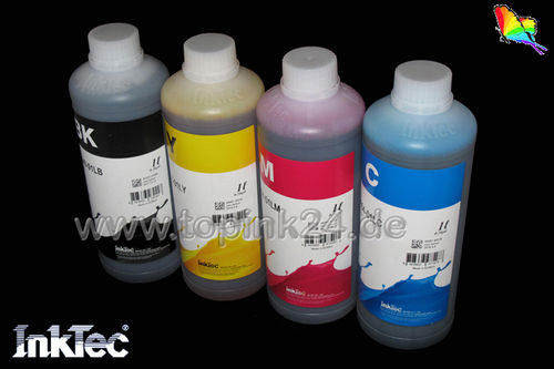 Refill kit ink InkTec® for Brother MFC DCP FAX with LC - Bk C Y M